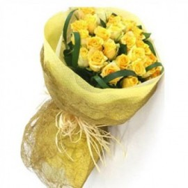 TRUE LOVE WITH YELLOW ROSES