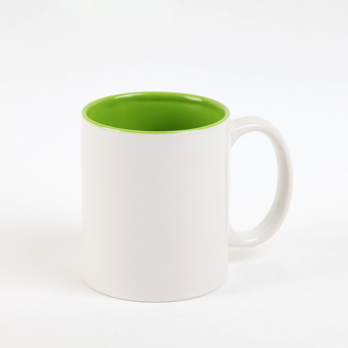 Inner color white mug