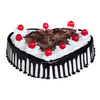 hearshaped blackforest