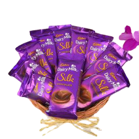 Dairy Milk Silk with Basket